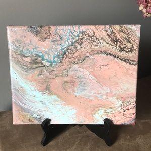 Acrylic flow canvas